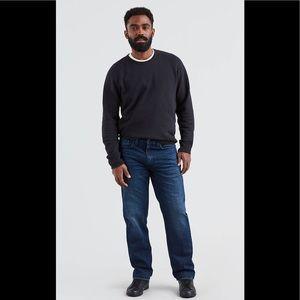 Levis 550 Dark Wash Jeans
